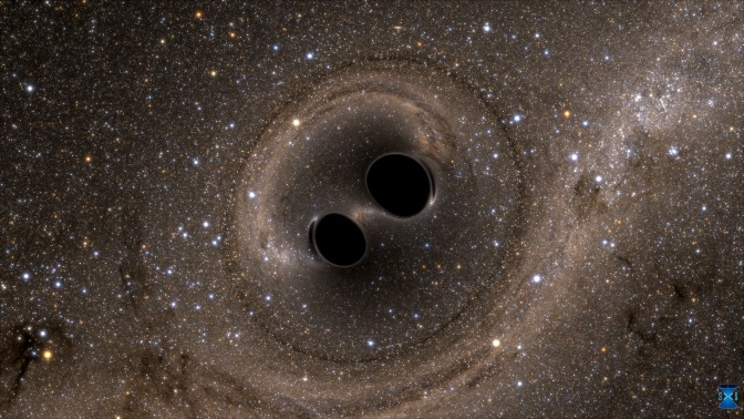 """What if two black holes are marriaged?"""